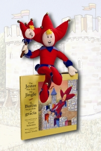 A Jester Doll and Book