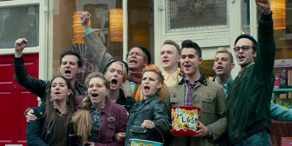 Still from the film Pride