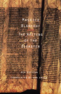 The Writing of the Disaster