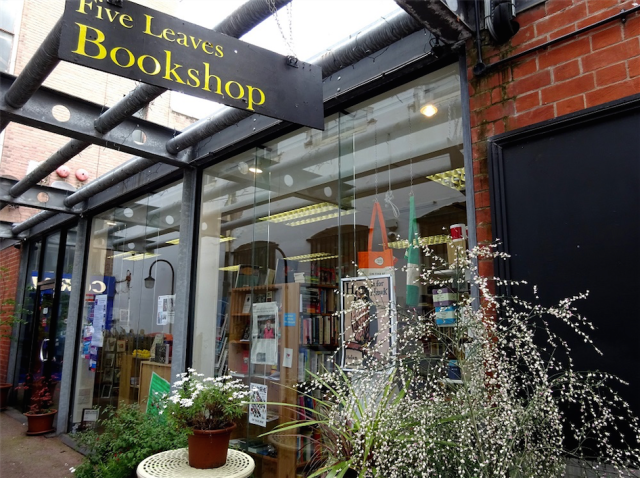 Five Leaves Bookshop, Nottingham