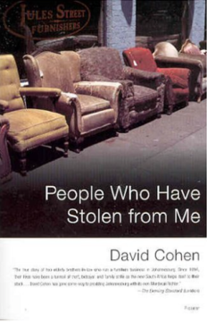 People Who Have Stolen From Me