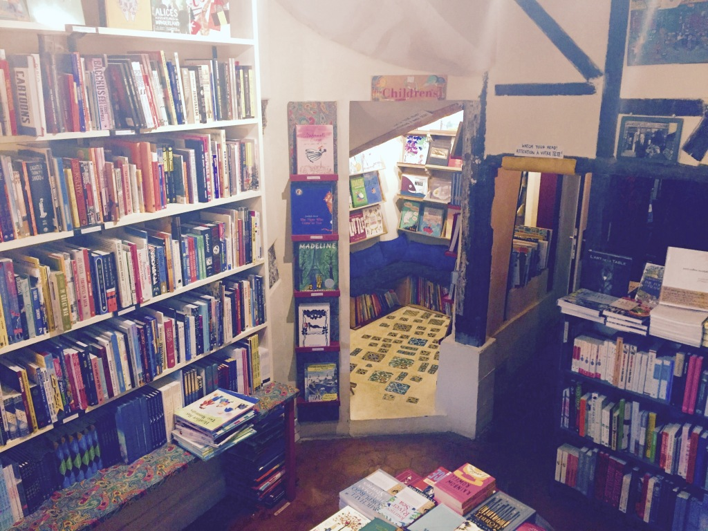 Children's Section. Copyright Shakespeare and Company.